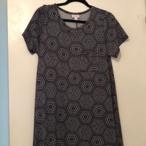 Lularoe dress.  Size Med.   wore once...
